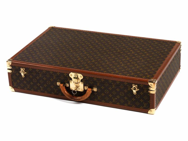 louis vuitton aktenkoffer bisten 80 hampel fine art auctions. Black Bedroom Furniture Sets. Home Design Ideas