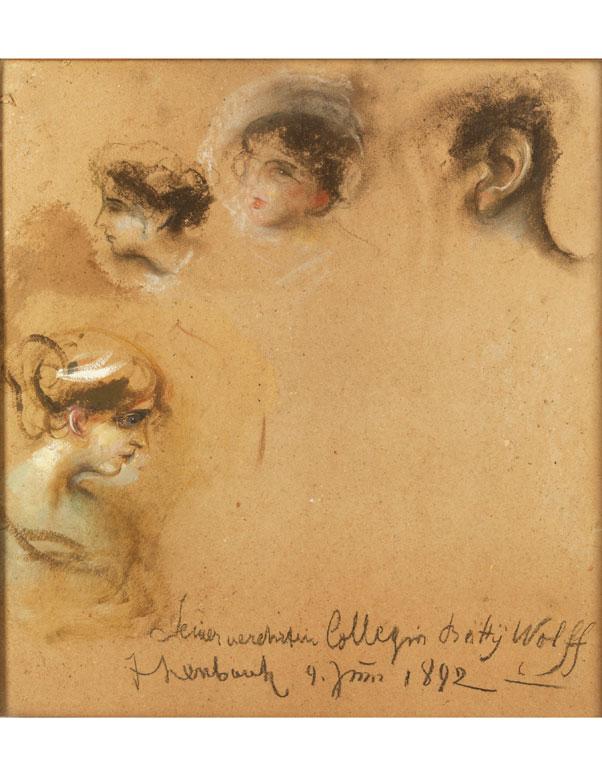 Franz von Lenbach, 1836 Schrobenhausen – 1904 München