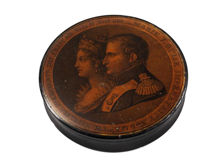 Napoleonische Lackdose