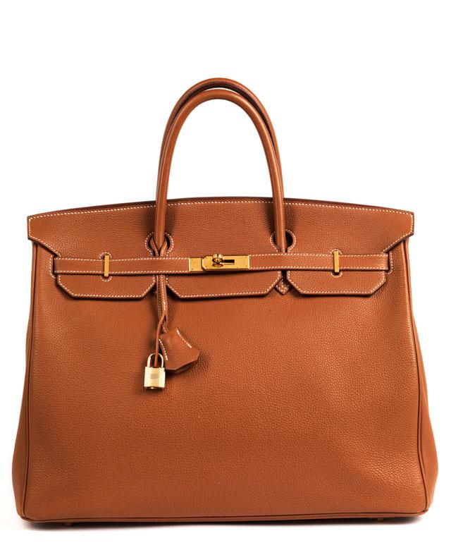 """Hermès Birkin Bag 40 cm """"Gold"""""""