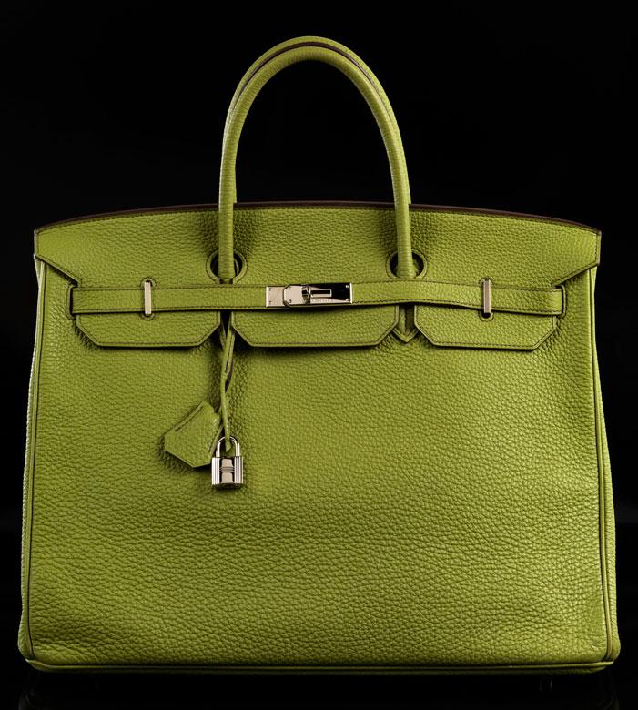 """Hermès Birkin Bag 40 cm """"Vert Anis"""""""