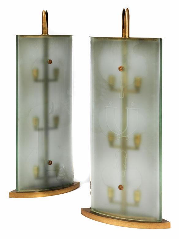 Paar Lampen, Gio Ponti zug.