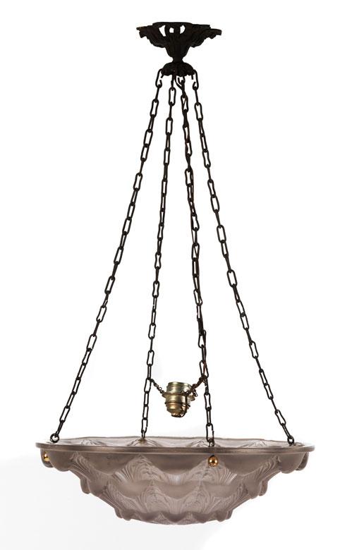 "Plafoniere ""Gaillon"" von Lalique"