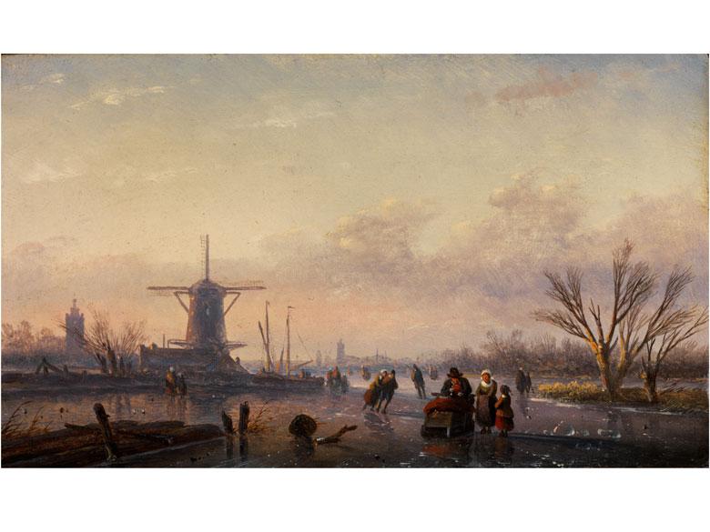 Jan Jacob Spohler, 1811 Nederhorst den Berg - 1866 Amsterdam, zug.