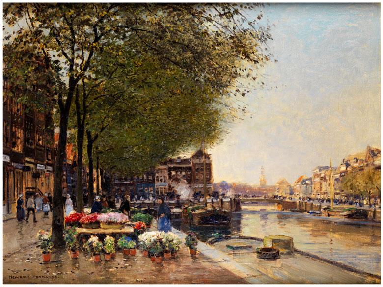 Heinrich Hermanns, 1862 Düsseldorf - 1942 Düsseldorf