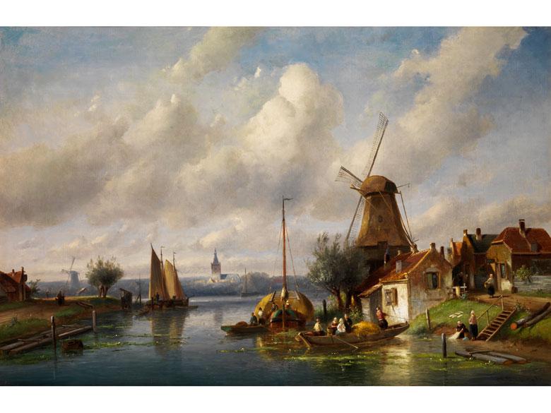 Charles H. Leickert, 1816 Brüssel - 1907 Mainz