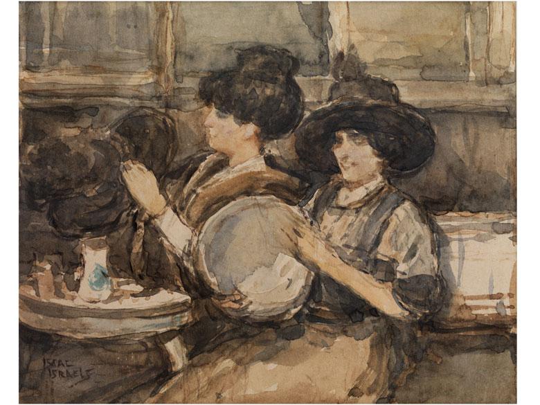 Isaac L. Israels, 1865 Amsterdam – 1934 Den Haag