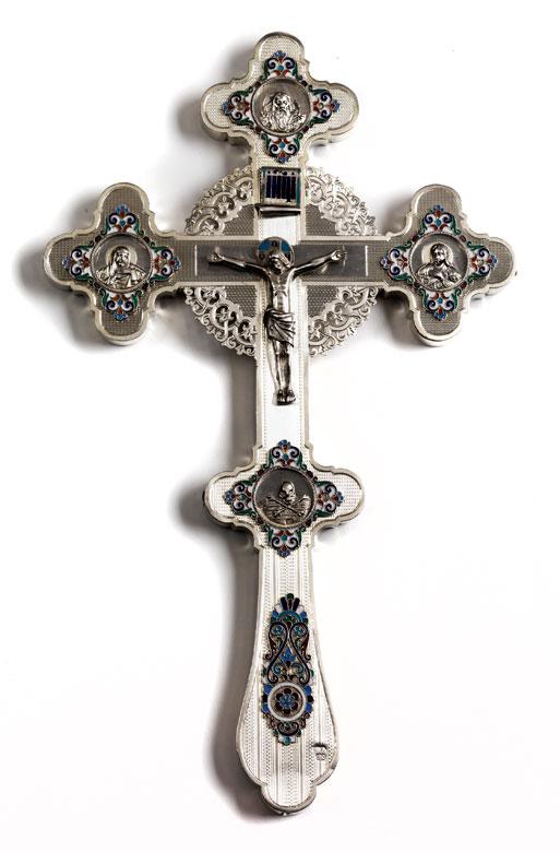 Russisch-orthodoxes Segenskreuz