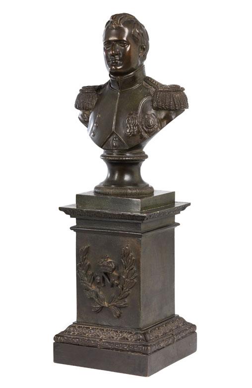 Napoleonbüste als Tischskulptur