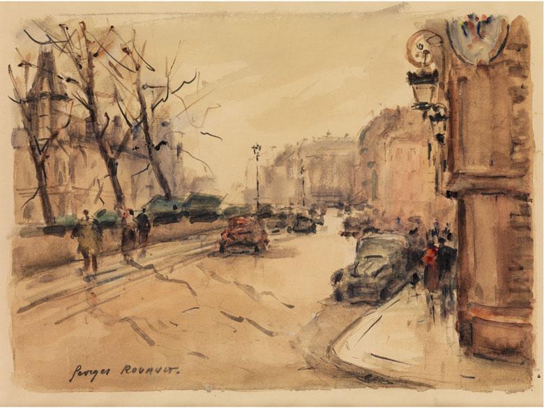 Georges Dominique Rouault, 1904 - 2002