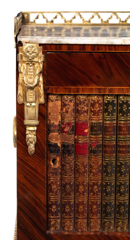 feines louis xvi nachttischchen gestempelt rvlc hampel fine art auctions