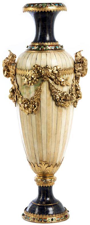 Bedeutende Historismus Vase