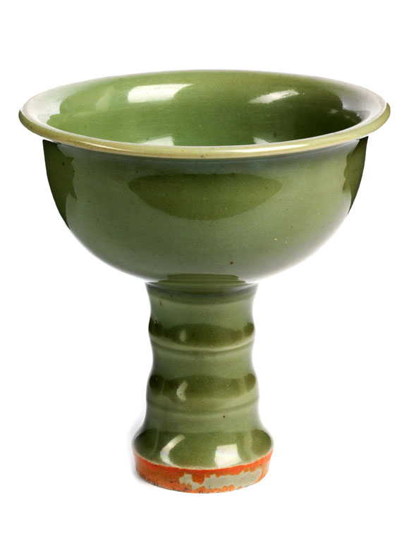 Celadon Stem Cup
