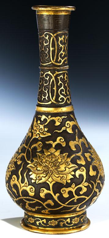 Hu Wen Ming Bronze Vase