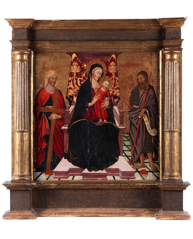 Alvaro Pirez de Evora, geboren in Portugal, nachweisbar Prato 1411 und Toskana bis 1434, zug.