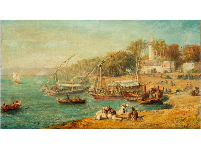 Orientalist des 19. Jahrhunderts
