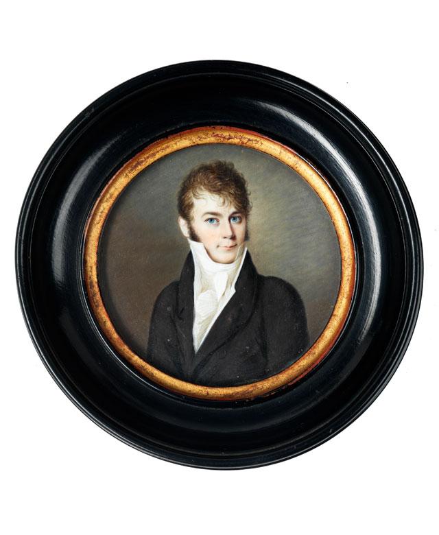 Portrait eines Jungen Herrn