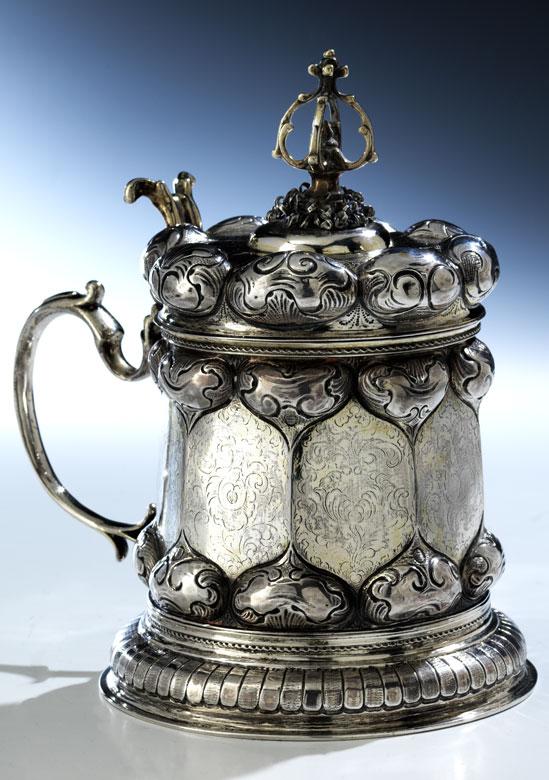 Barocker Silberhumpen