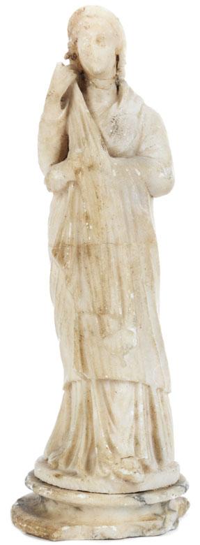 Marmorfigur einer antiken Frau