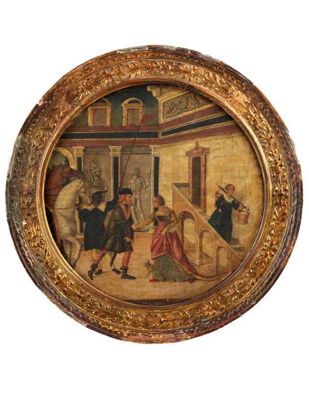 Domenico Morone, um 1442 Verona - um 1520, zug.