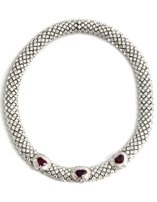 Diamant-Rubincollier