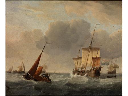 Willem II van de Velde, 1633 Leiden – 1707 Greenwich, zug.