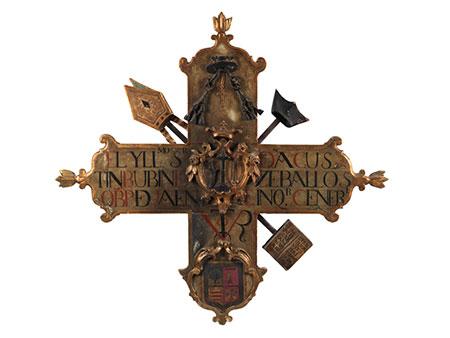Bischofskreuz des letzten Großinquisitors von Spanien Agustín Rubín de Ceballos