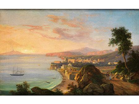 Salvatore Fergola, 1799 - 1874 Neapel