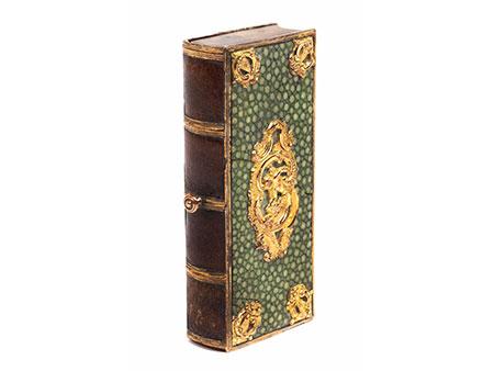 Außergewöhnliches kleines Schmuckkästchen in Form eines Buches