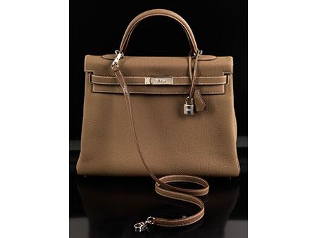 """Hermès Kelly Bag 35 cm """"Etoupe"""""""