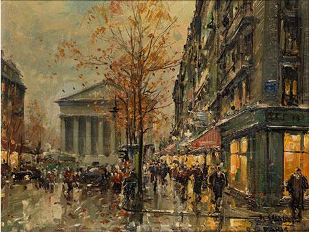 Jean Salabet,  Maler des 19./ 20. Jahrhunderts
