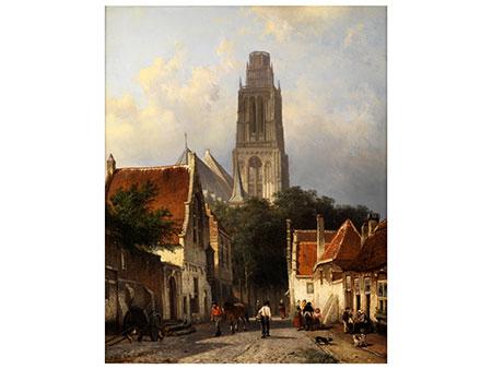 Cornelis Springer, 1817 Amsterdam - 1891 Hilversum