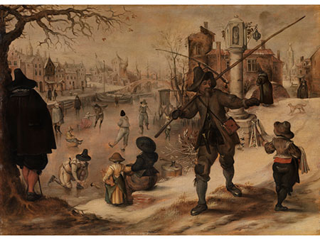 Sebastian Vrancx, 1573 - 1647, zug.