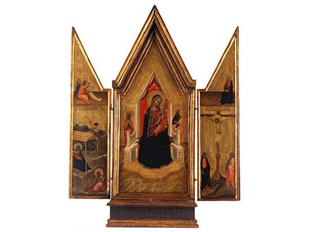 † Florentiner Schule Mitte des 14. Jahrhunderts