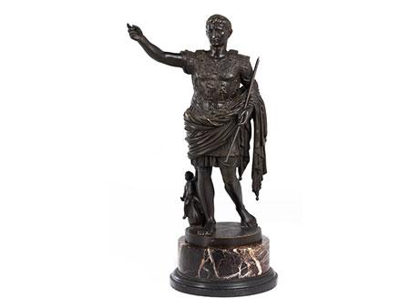 Kleines Tischdenkmal des Augustus