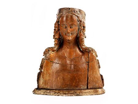 Reliquienbüste der Heiligen Ursula