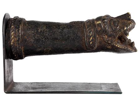 Bronze-Griff