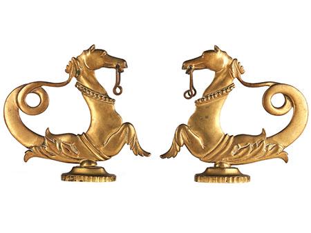 Paar Gondelpferde