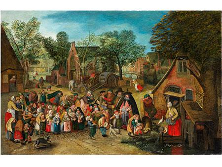 † Pieter Brueghel d. J., 1564 Brüssel - 1637 Antwerpen