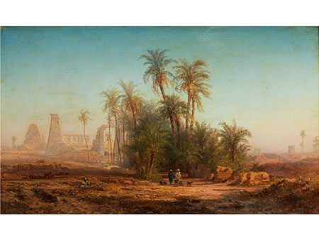 Bernard Fiedler, 1816 Berlin - 1904 Triest