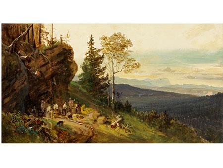 Heinrich Bürkel, 1802 - 1869