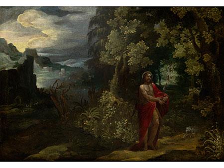 Paul Bril, 1554 – 1626, zug. Flämischer Maler des 17. Jahrhunderts