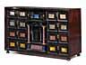 Detail images: Kabinettkasten mit Pietra dura-Auflagen