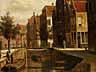 Detail images: Willem Koekkoek, 1839 Amsterdam - 1895