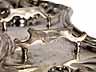 Detail images: Silberner Dochtscherenhalter