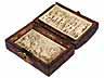 Detail images: Elfenbeinschnitztafeln in Kästchen