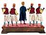Detail images: Musikantengruppe einer neapolitanischen Krippe