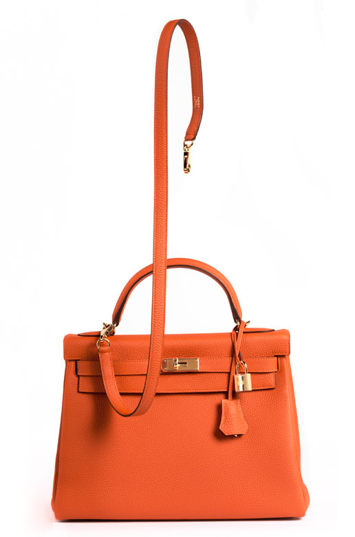 "Hermès Kelly Bag 32 cm ""Orange"""