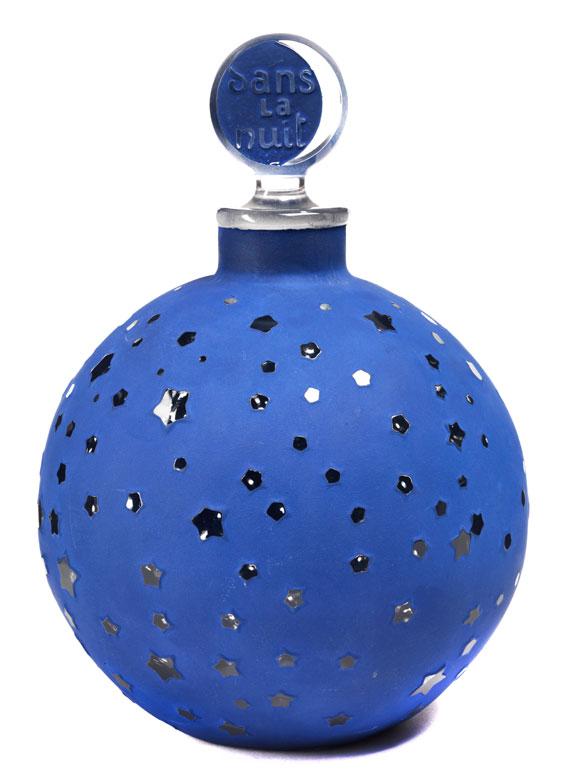 """Großes Parfumflakon """"dans la nuit"""" von Lalique"""