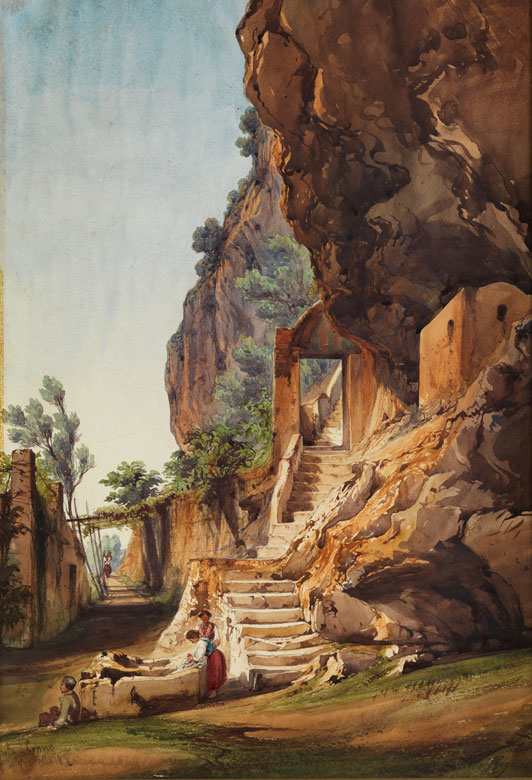 Giacinto Gigante, 1806 - 1876 Aste